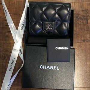 Chanel card holder/wallet